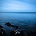 Landskapsfoto, Vättern, Hjo, kvällsfotografering, lång slutartid (1)