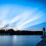 Landskapsfoto, Vättern, Hjo, kvällsfotografering, lång slutartid (3)