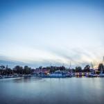 Landskapsfoto, Vättern, Hjo, kvällsfotografering, lång slutartid (4)