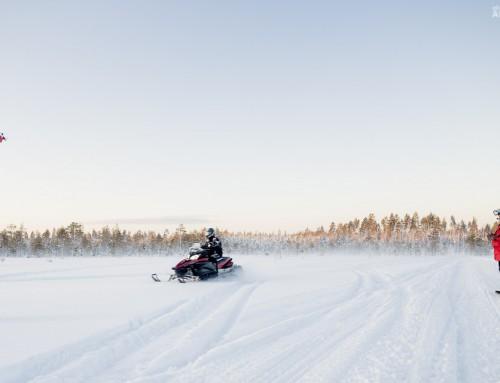 Behind the scenes / Bakom kulisserna – Flygfilm i Norrland
