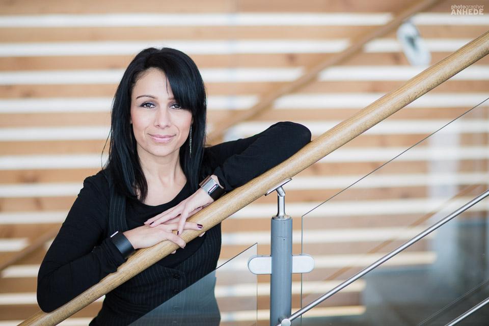Pressfotografering och filmning av pressklipp för författaren, coachen, föreläsaren och projektutvecklaren Sofia Guldbrand.