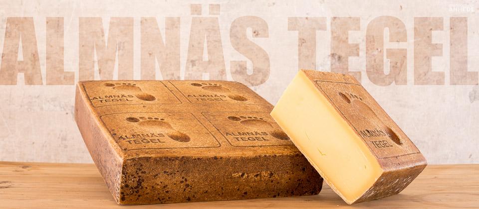 Almnäs Tegel - Produktfotografering av ost för Almnäs Bruk - Commercial product photography, fine heritage cheese from Almnas, Sweden