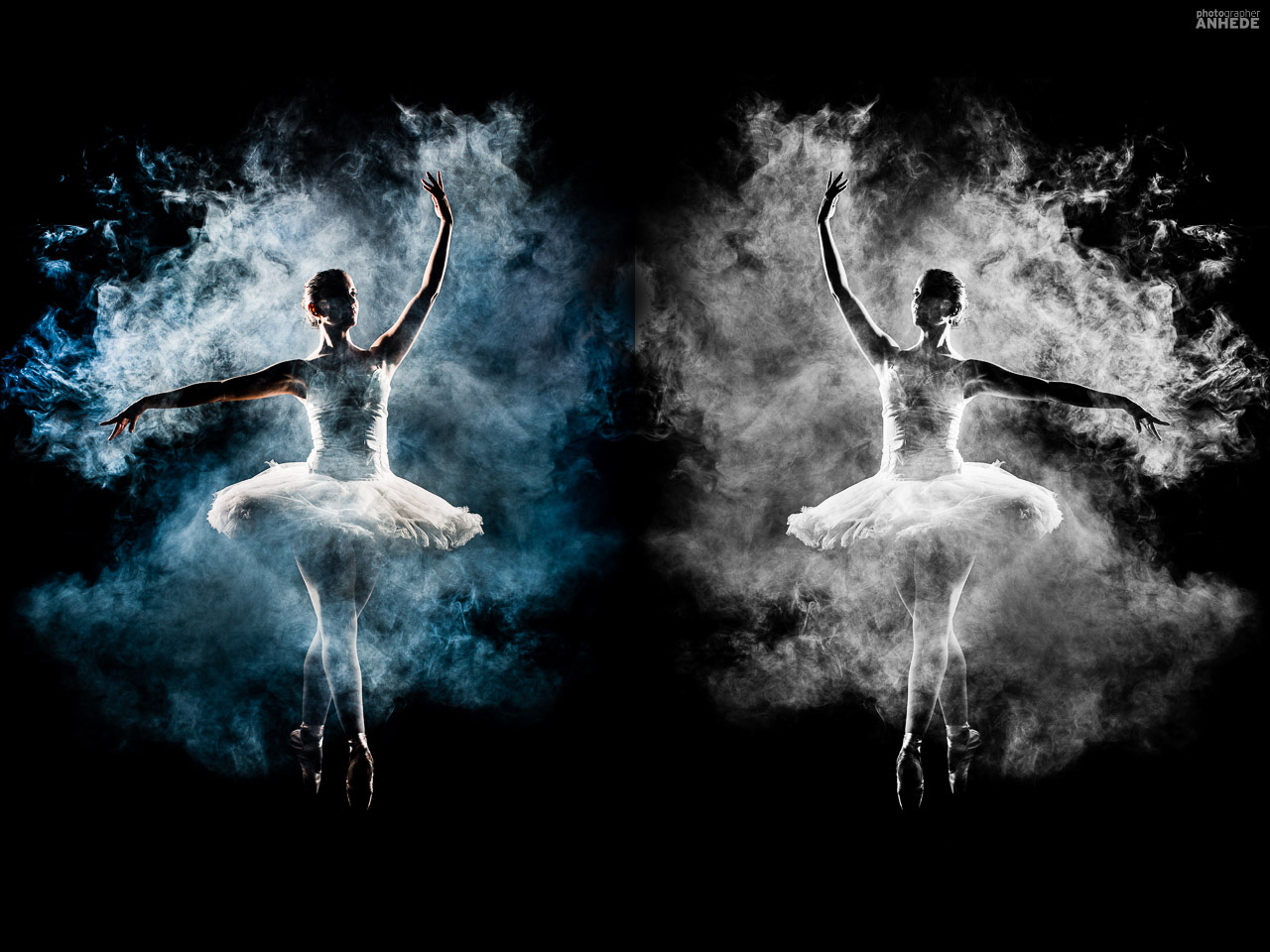 ballerina, dance, photo art