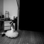 Bakom kulisserna, ballerina, fotografering, dans