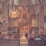 Bröllopsfotograf, Varnhems klosterkyrka, Skara/Skövde - Malin & Erik - Swedish wedding photographer (2)