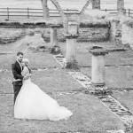 Bröllopsfotograf, Varnhems klosterkyrka, Skara/Skövde - Malin & Erik - Swedish wedding photographer (49)