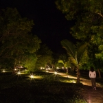 Night photos of the Manta Resort