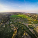 Aerial photo / flygfoto - Hökensås Golfklubb, Golfbana