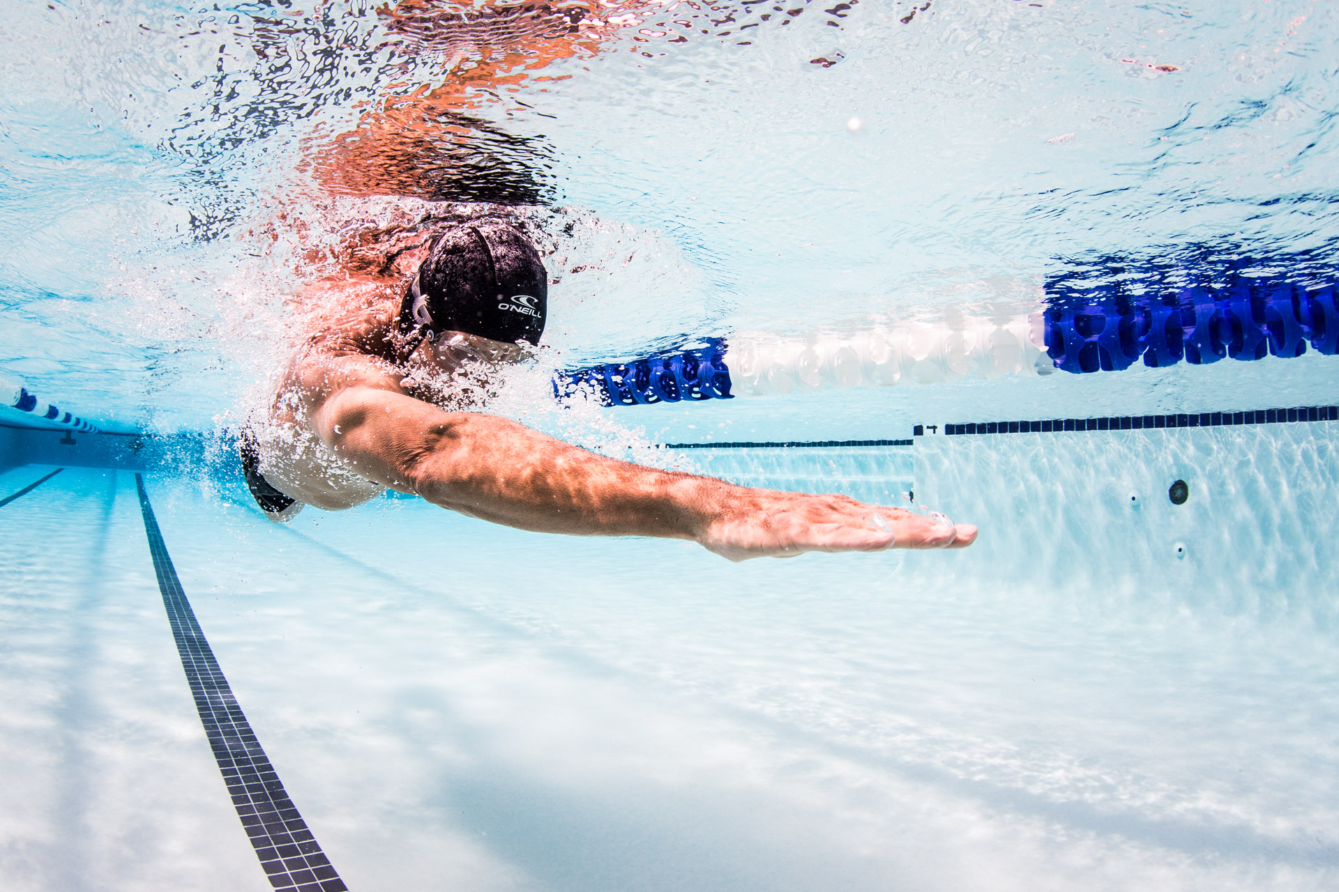 Underwater photography in swimming pool - San Francisco