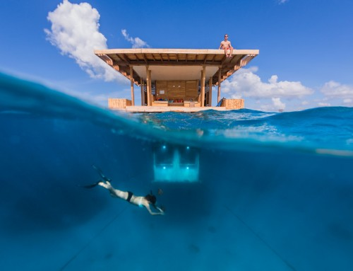 Destination photography for the Manta Resort and the Manta Underwater Room