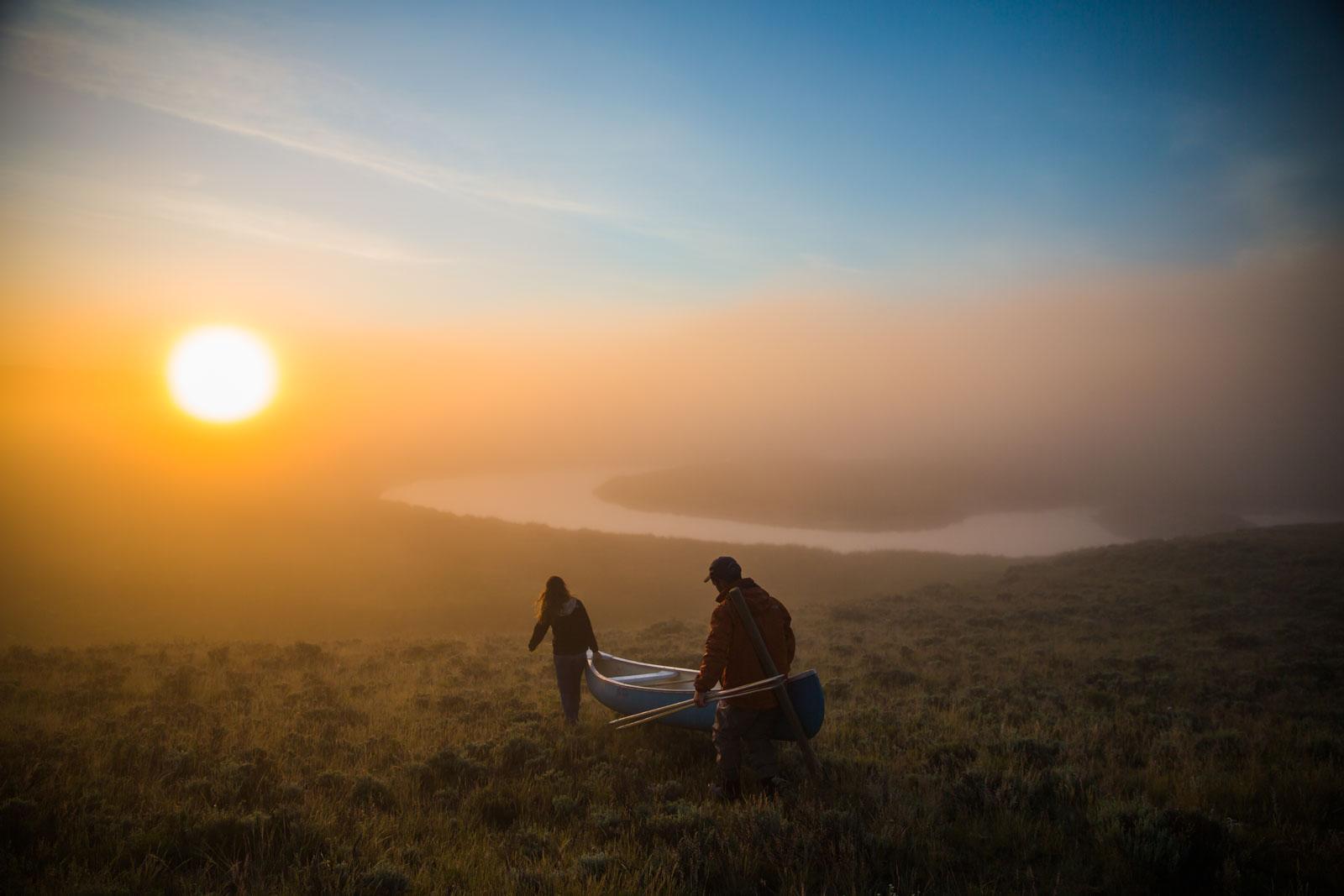 canoeing-j-bar-l-ranch-montana
