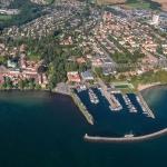 Aerial photo / flygfoto - Hjo stad