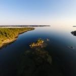 Aerial photo / flygfoto - Koviken, Vättern