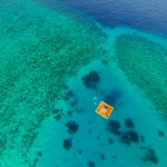 Aerial photo & overview - Tourism photographer for the Underwater Room - Pemba Island, Zanzibar, Tanzania, Africa