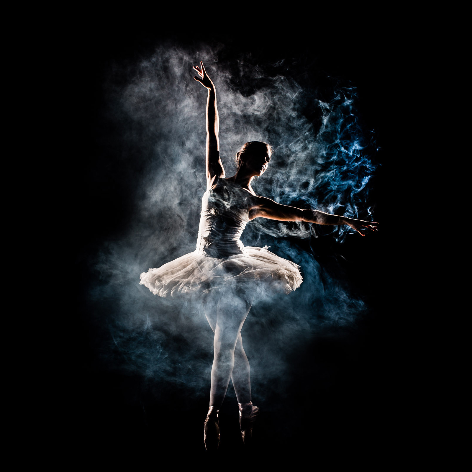 ballerina ballet balletdancer smoke art dancer dance pose position photographer kickass anhede fineart fineartphoto