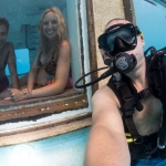 Behind the scenes, travel photographer Jesper Anhede, Manta Resort Underwater Room, Pemba, Zanzibar, Tanzania