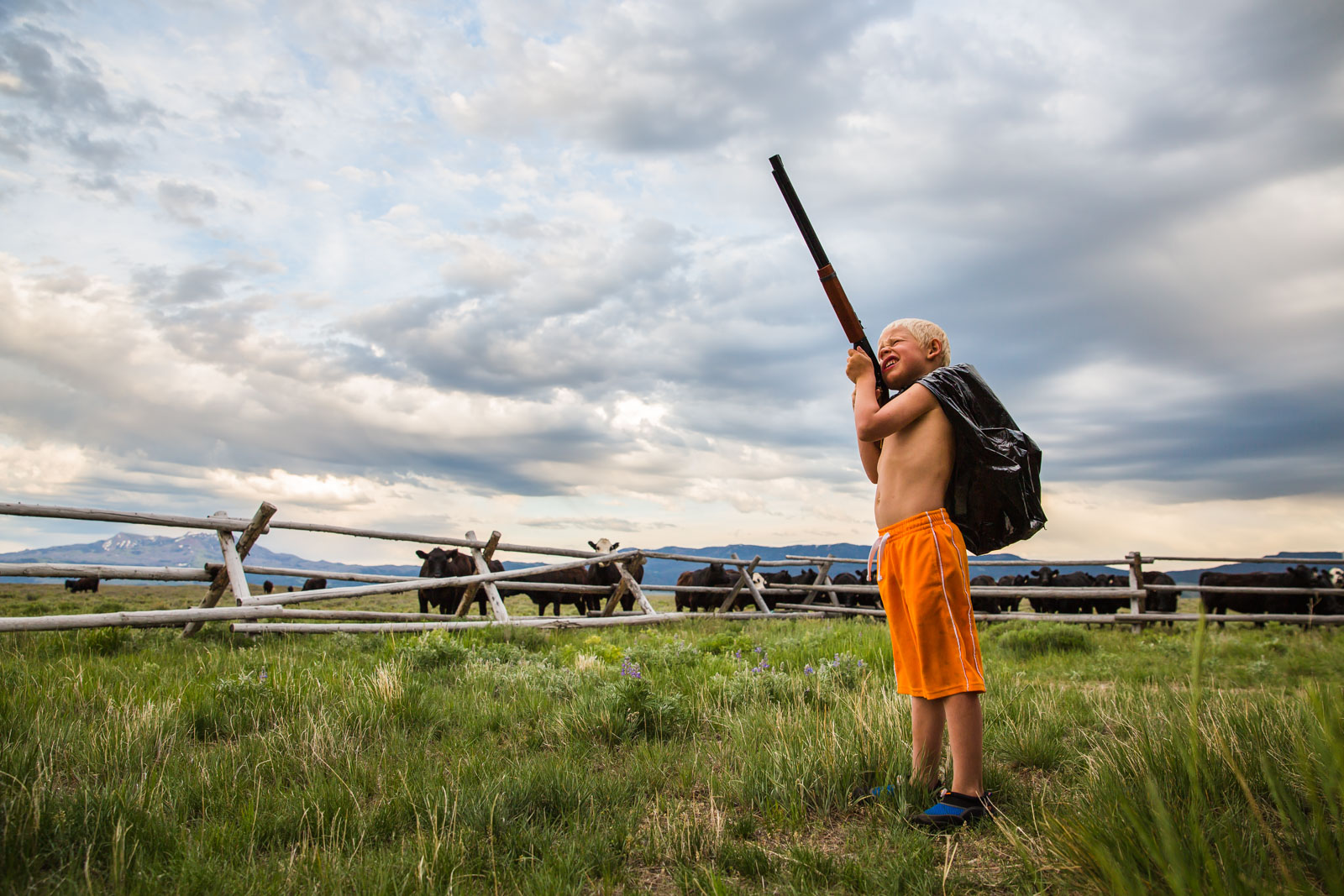 child-portrait-montana-gun-cows