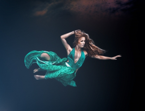 Fine Art underwater portrait photo