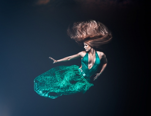 Video – Fine Art underwater portrait