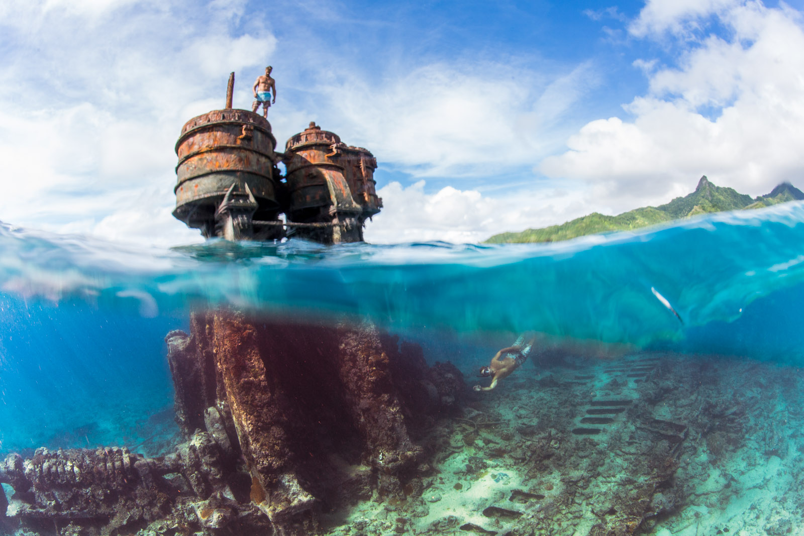 ss mai tai, shipwreck, diving, snorkeling, rarotonga, cook islands, sailing adventure, wanderlust, pacific, uw, uwphoto, underwater, underwater photo, underwater photographer, anhede, undervattensfotograf, undervattensfoto