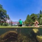 Adventure photographer Jesper Anhede - yosemite, national park, slackline, river, merced river, california, usa, forest, behind the scenes, bakom kulisserna, gå på lina, jesper anhede, matthew smith