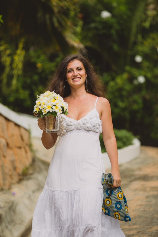On the way to the wedding - Wedding photographer in the Seychelles