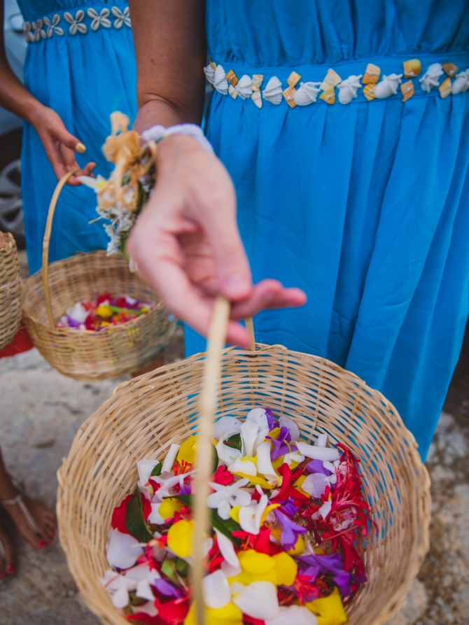 Flowers - Wedding photographer in the Seychelles