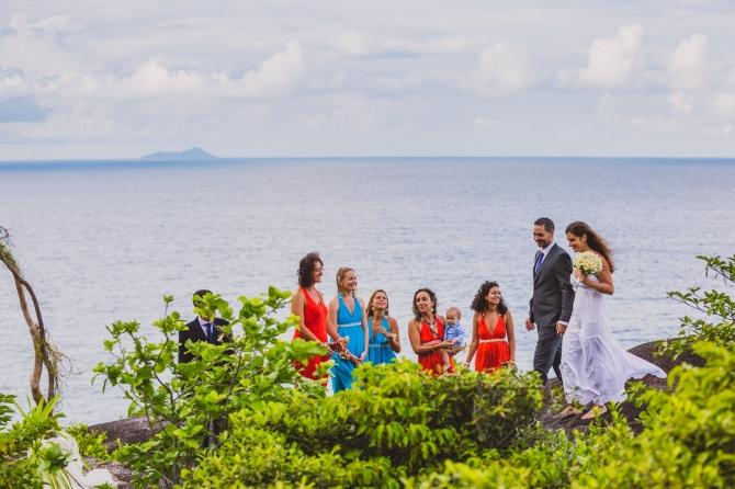 Bride & Groom - Wedding photographer in the Seychelles