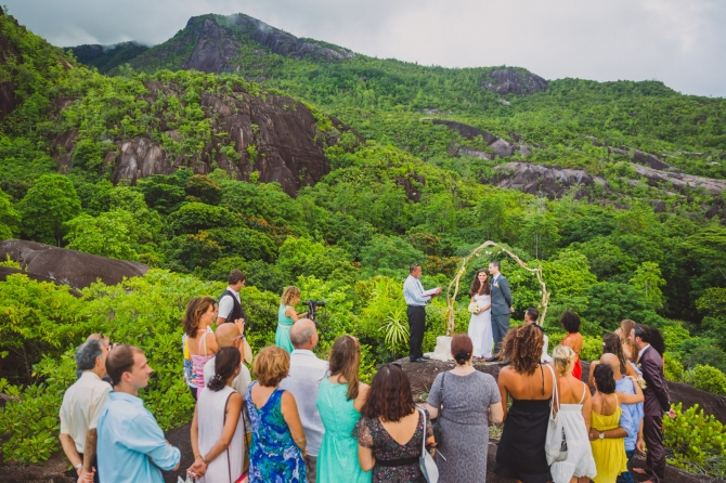 The Ceremony - Wedding photographer in the Seychelles