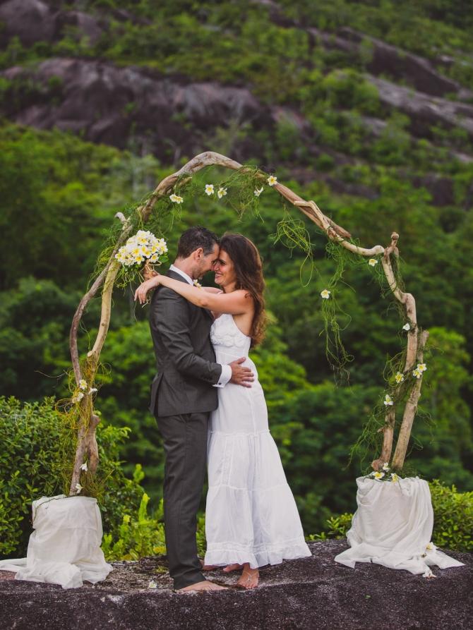 The wedding couple - Wedding photographer in the Seychelles