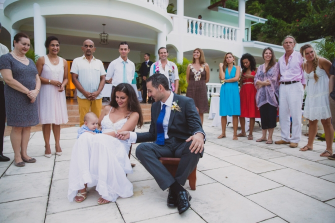 The reception - Wedding photographer in the Seychelles
