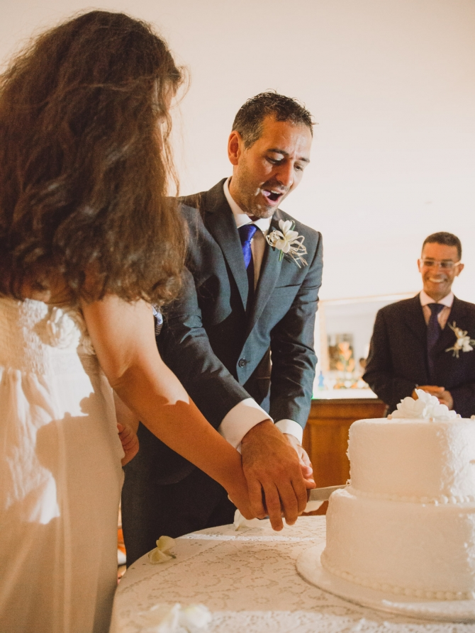 The wedding cake - Wedding photographer in the Seychelles