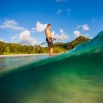Surffotograf, Ståpaddling, stand up paddle, Seychellerna
