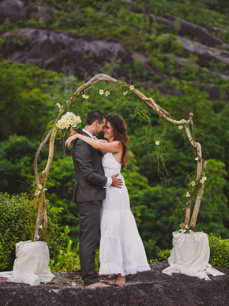 Destination wedding photofrom the Seychelles - Bröllopsfoto från Seychellerna