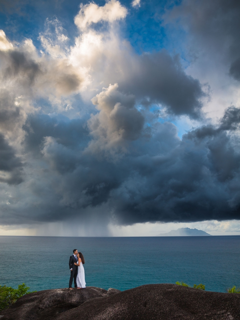 Fotograf vid destinationsbröllop i Seychellerna - Destination wedding photographer, Seychelles