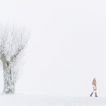 Fashion photographer for Cape Sweden in Swedish winter