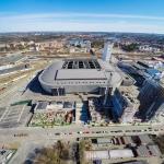 flygfotograf, friends arena, stockholm, sverige