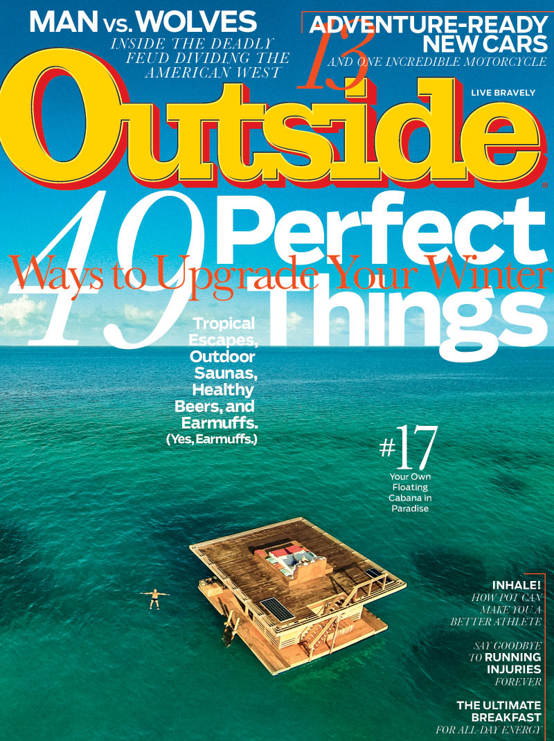 Outside magazine cover photographer - Omslagsfotograf för Tidningen Outside