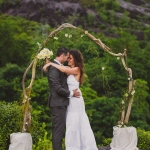 Wedding photo Seychelles - Bröllopsfoto Seychellerna