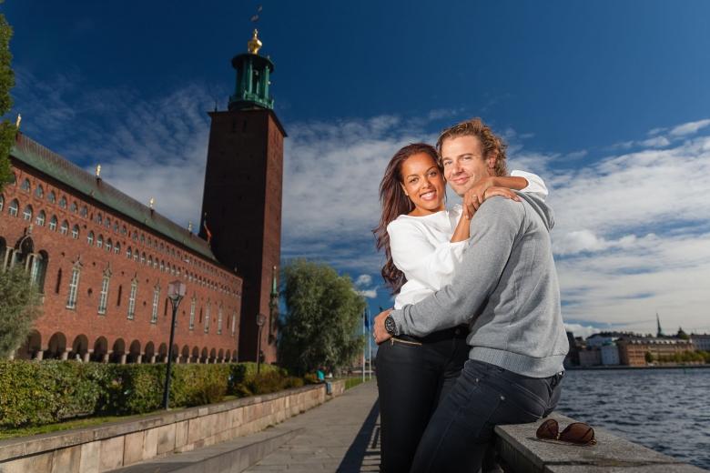 Wedding engagement session / Pre shoot, Sweden - Bröllop provfotografering / förlovningsfotografering, Stockholm, Sverige