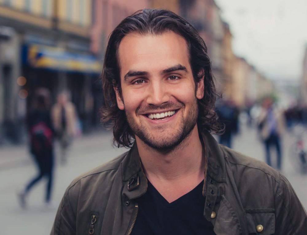Business portrait of Erik Fernholm in Stockholm, Sweden