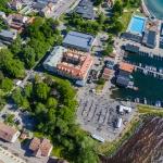 drone aerial photographer, vatternrundan, bicycle race, sweden