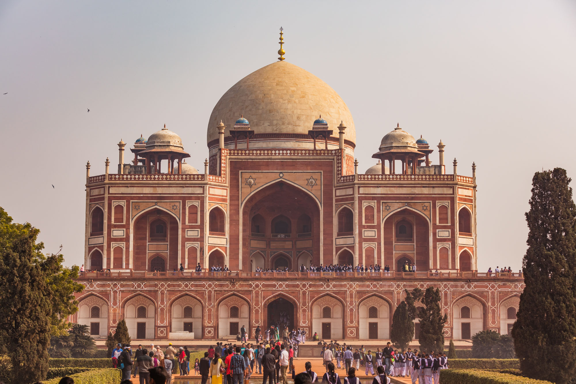 Humayun's tomb, New-Delhi, India, Asia