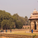 Isa Khan's tomb in New-Delhi, India