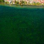 aerial photo video archelogical documentation under waterhjo vattern