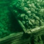 undervattensfoto undervattensvideo arkeologisk dokumentation under vatten krabben brygga hjo vattern