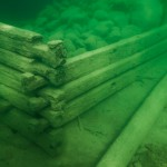 uw photo underwater archelogical krabben dock hjo vattern