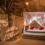 Bedroom, Mud Chalet - Eco Lodge, Saraii Village, Yala, Sri Lanka