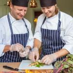kockar, kök, hotellfotograf - steningevik arlanda stockholm sweden