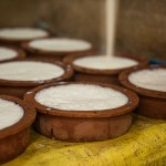 Traditional curd making - Saraii Village, Yala, Sri Lanka